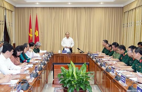 Thủ tướng kiểm tra Công trình, khu vực Lăng Chủ tịch Hồ Chí Minh - Ảnh 1.