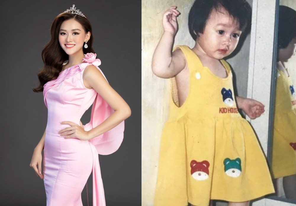 Vẻ đáng yêu thuở nhỏ của dàn Hoa hậu, Á hậu Việt Nam - Ảnh 2.
