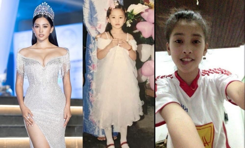 Vẻ đáng yêu thuở nhỏ của dàn Hoa hậu, Á hậu Việt Nam - Ảnh 4.