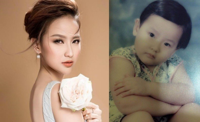 Vẻ đáng yêu thuở nhỏ của dàn Hoa hậu, Á hậu Việt Nam - Ảnh 9.
