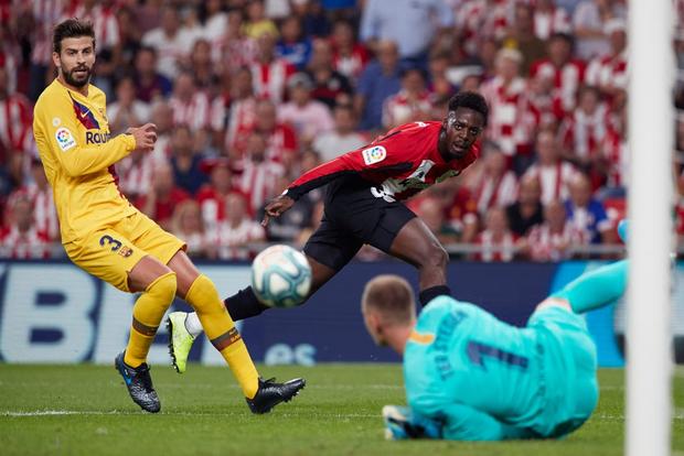 Siêu phẩm tung người cắt kéo phút 89 khiến Barcelona trắng tay trận khai màn La Liga - Ảnh 2.