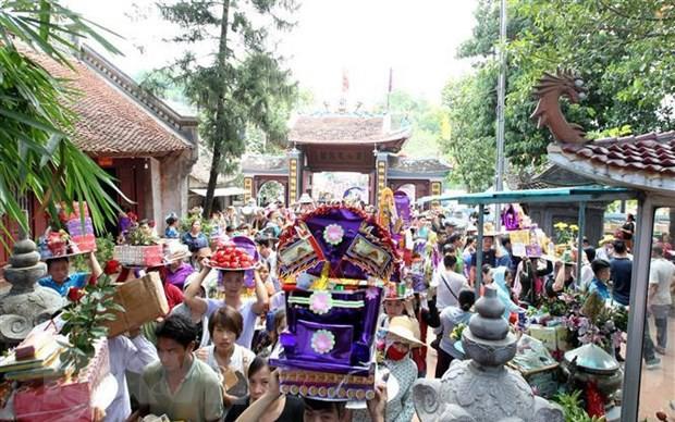 Nét đẹp văn hóa các dân tộc địa phương được giới thiệu tại Lễ hội đền Bảo Hà