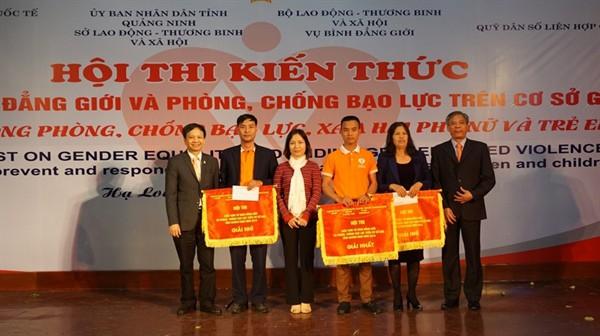 Tuyên truyền về bình đẳng giới và phòng, chống BLGĐ ở Quảng Ninh - Ảnh 2.