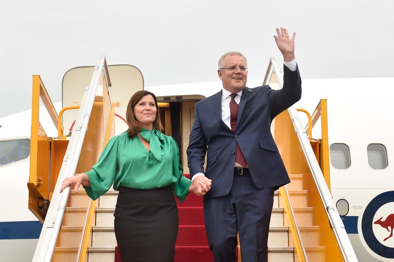 Thủ tướng Australia và Phu nhân thăm chính thức Việt Nam - Ảnh 1.