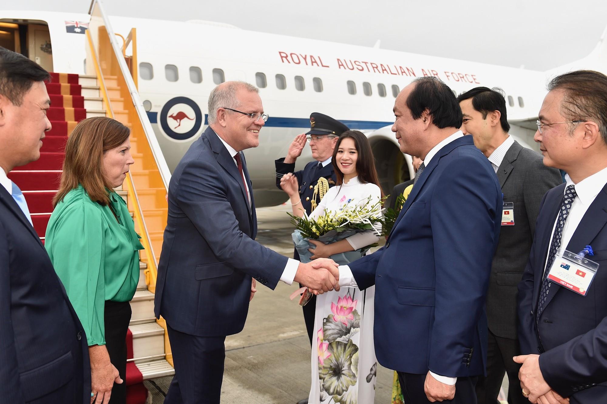 Thủ tướng Australia và Phu nhân thăm chính thức Việt Nam - Ảnh 2.