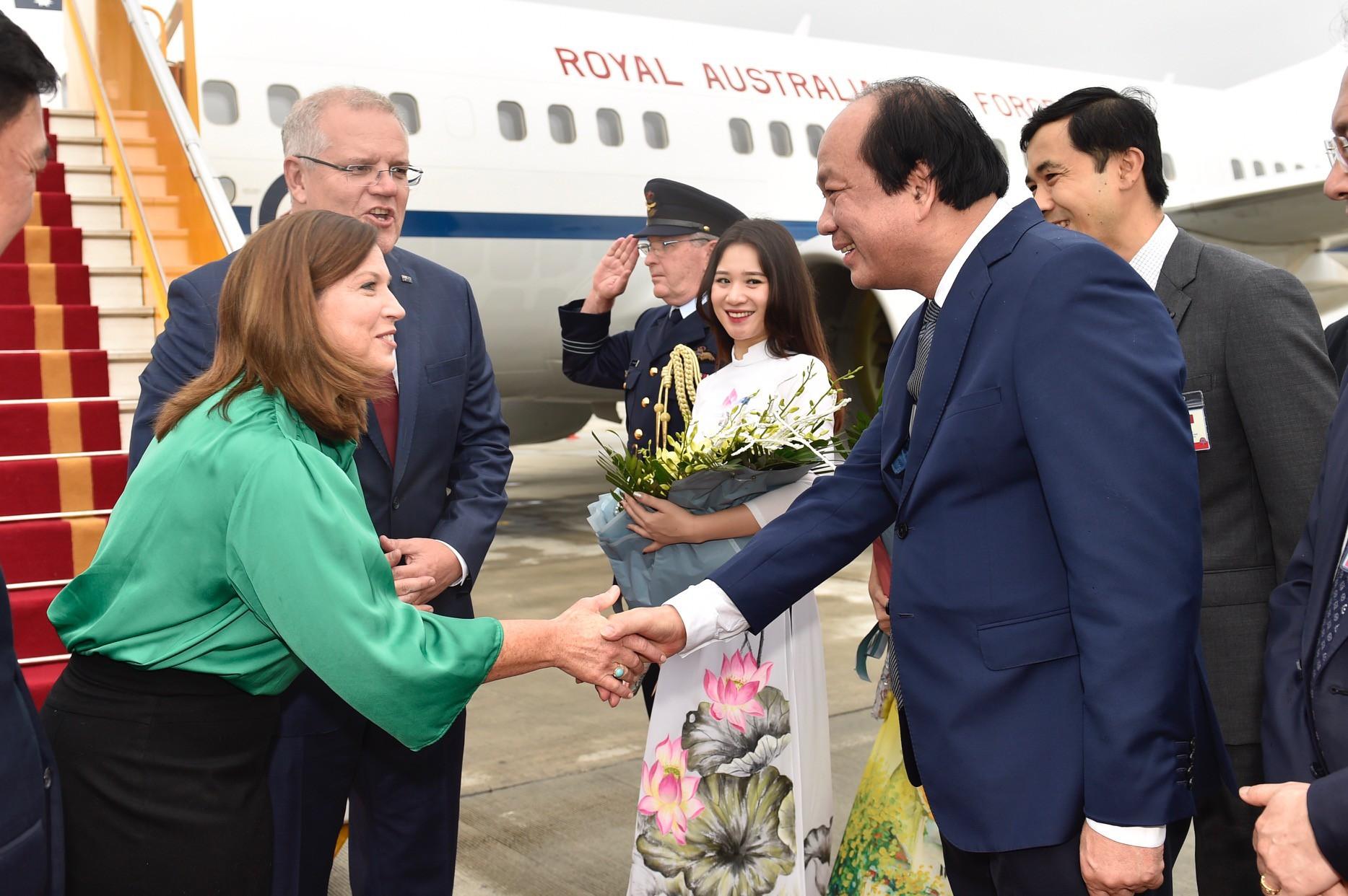 Thủ tướng Australia và Phu nhân thăm chính thức Việt Nam - Ảnh 3.