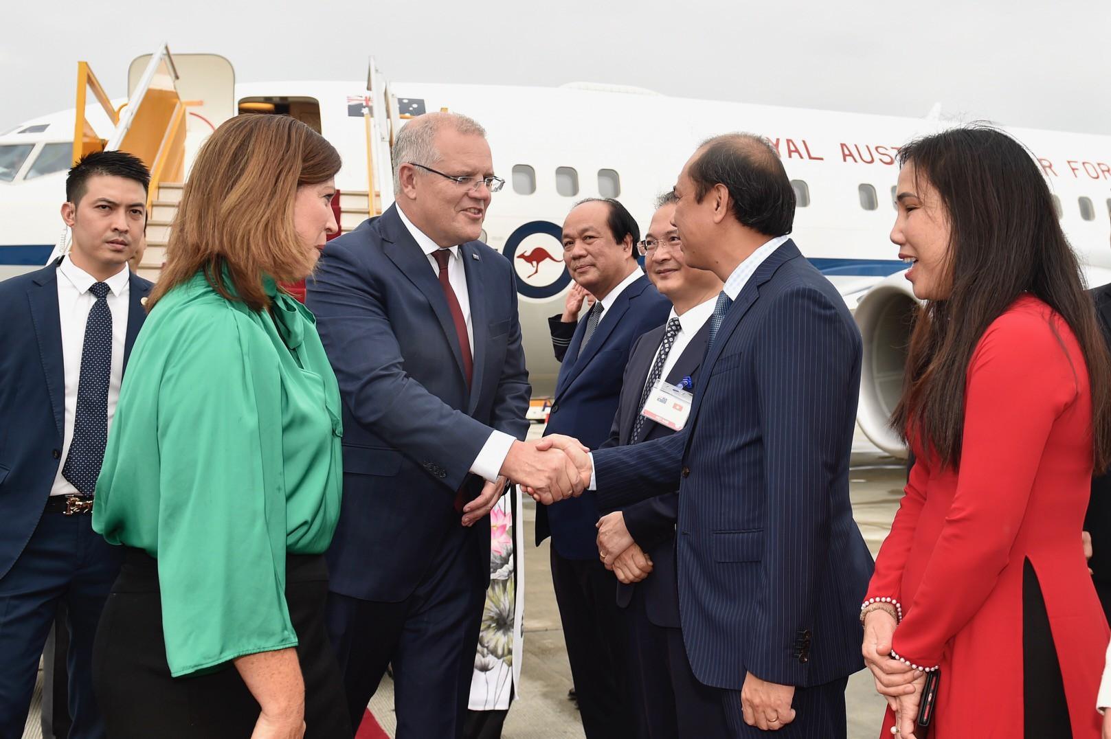 Thủ tướng Australia và Phu nhân thăm chính thức Việt Nam - Ảnh 6.