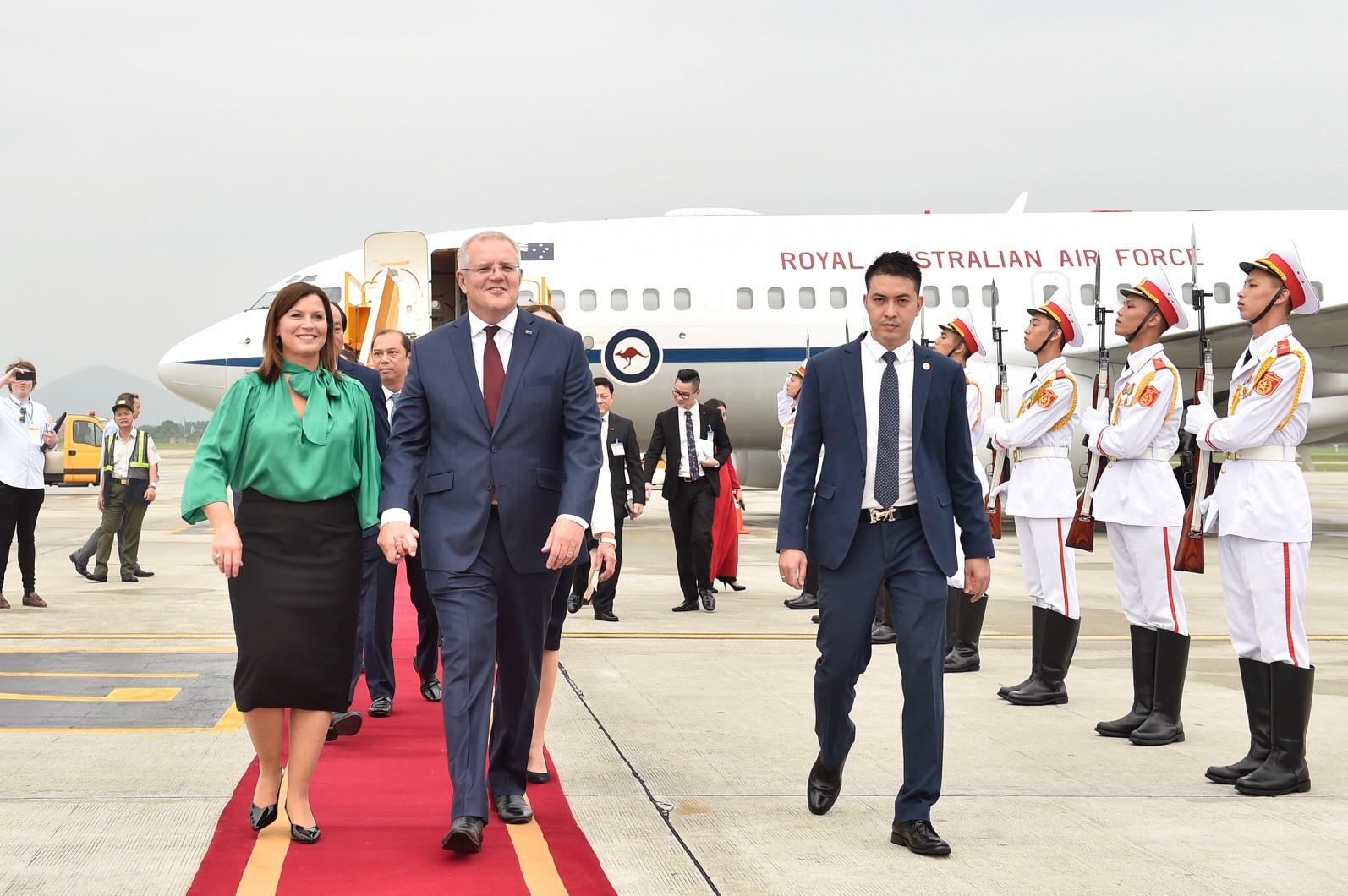 Thủ tướng Australia và Phu nhân thăm chính thức Việt Nam - Ảnh 7.