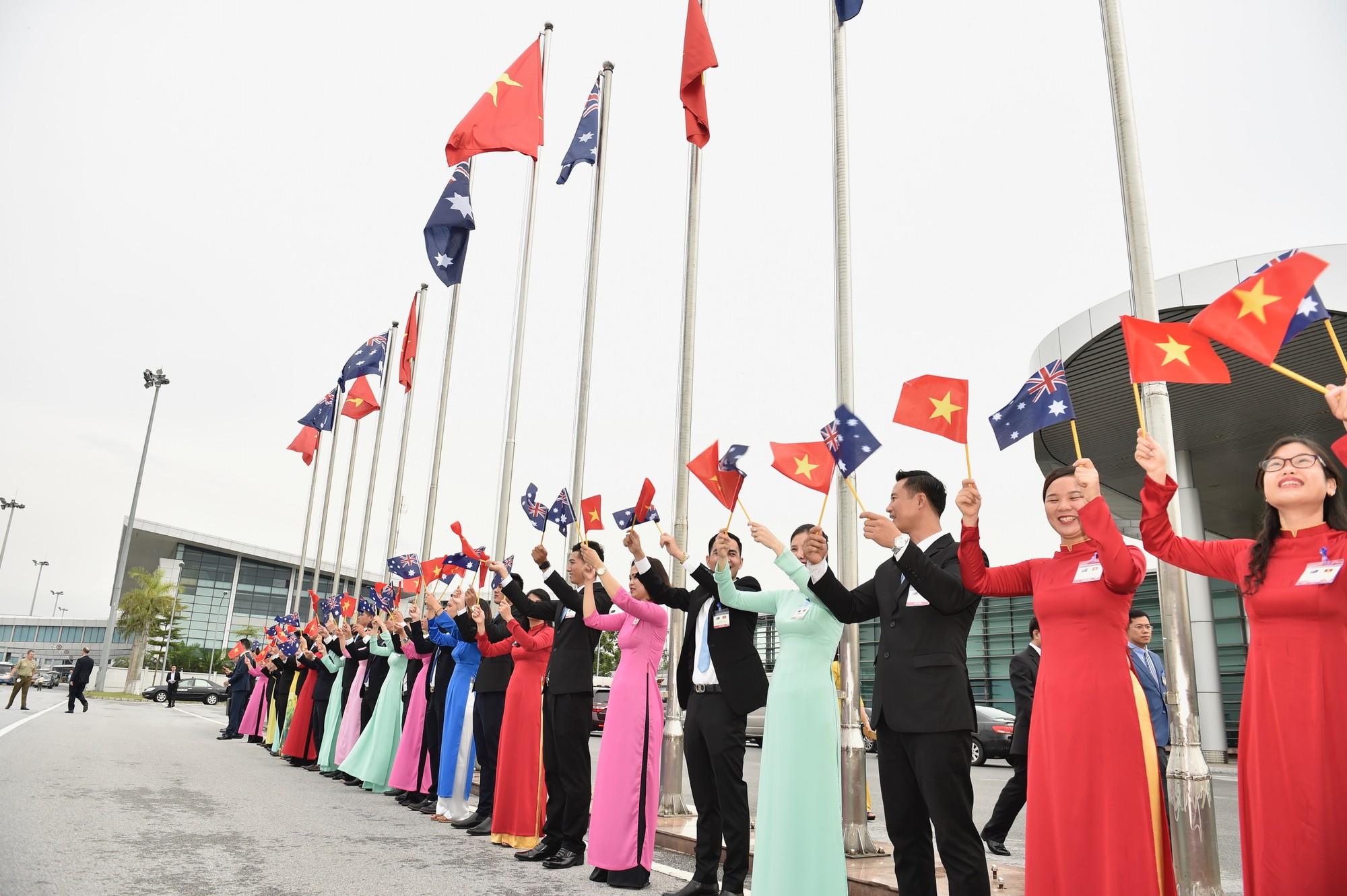 Thủ tướng Australia và Phu nhân thăm chính thức Việt Nam - Ảnh 8.
