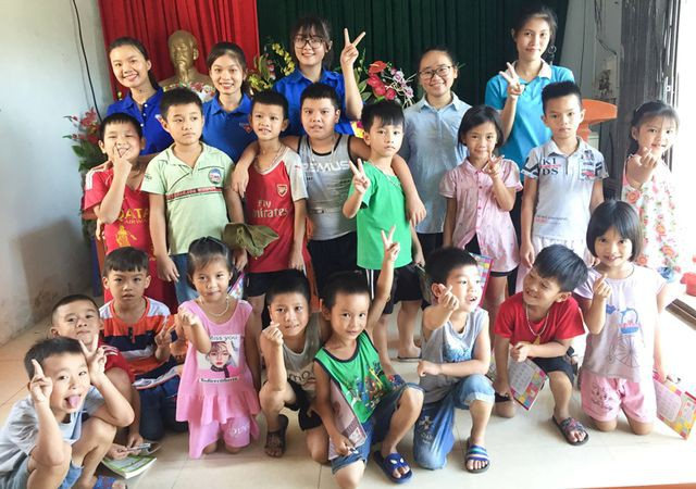 Sinh viên mở lớp dạy tiếng Anh miễn phí cho học sinh dịp hè - Ảnh 5.