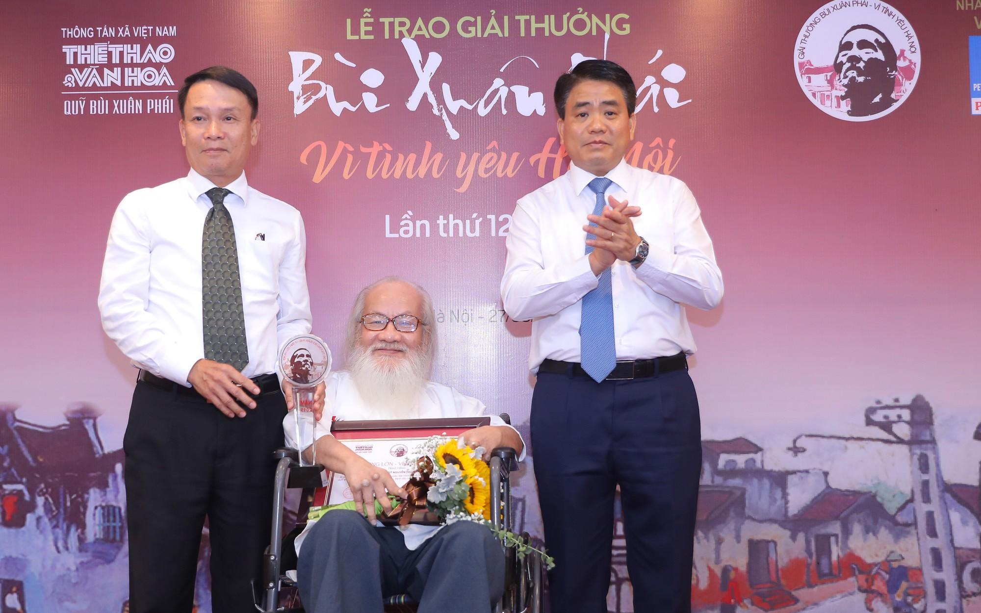 UBND TP Hà Nội nhận hai giải thưởng của Giải Bùi Xuân Phái- Vì tình yêu Hà Nội 2019
