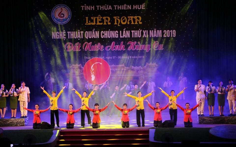 Ấn tượng Liên hoan nghệ thuật quần chúng tỉnh Thừa Thiên Huế lần thứ XI