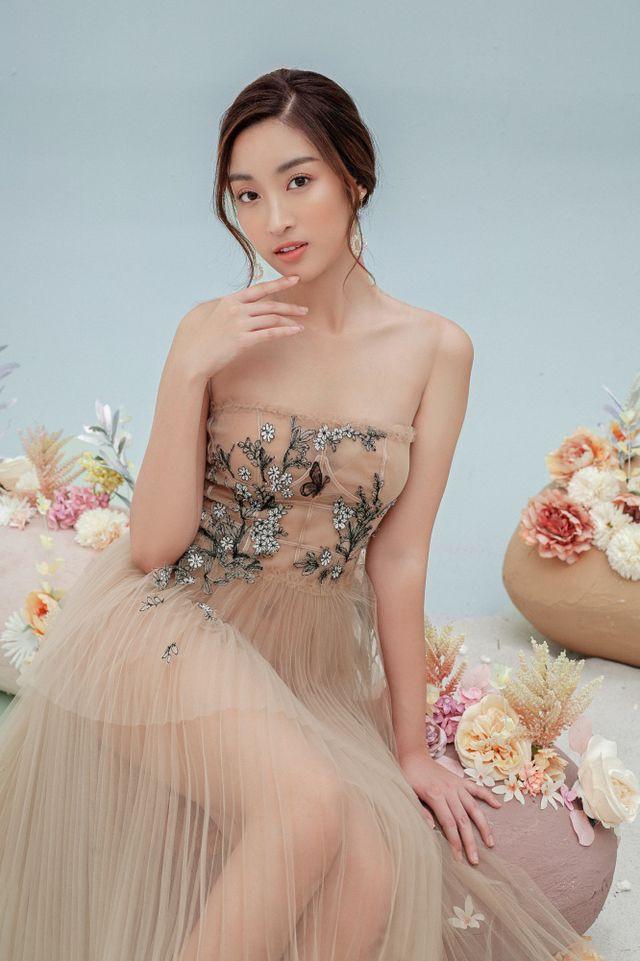 Hoa hậu Đỗ Mỹ Linh gợi cảm hơn sau tin đồn yêu thiếu gia - Ảnh 2.