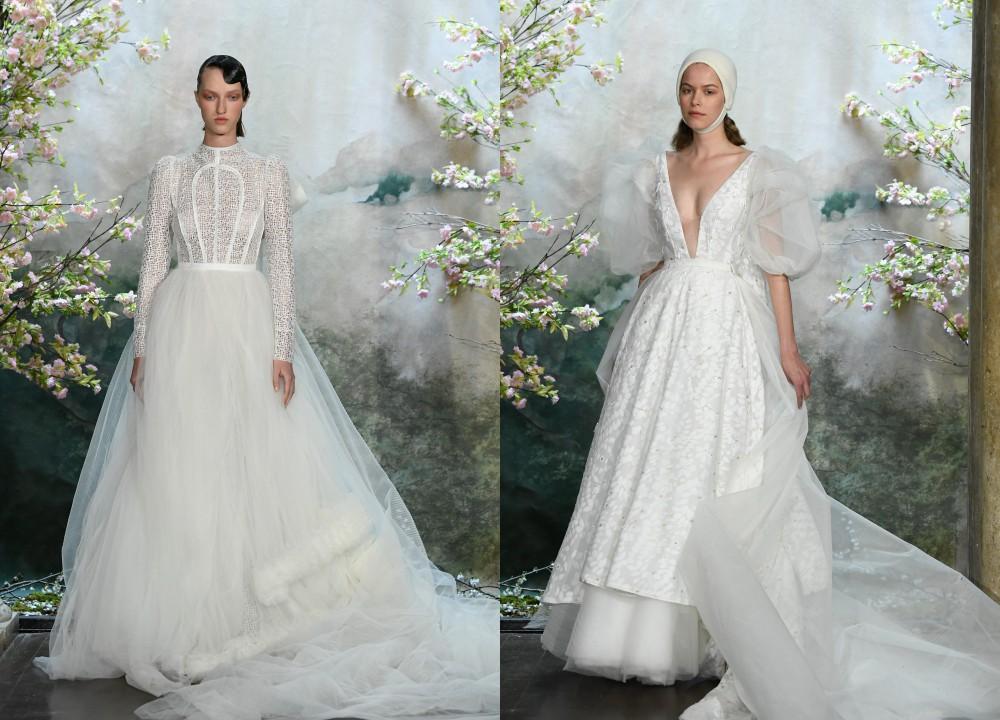 Ngắm váy cưới của nhà thiết kế Việt tại tiệm đồ cưới nổi tiếng nhất New York - Ảnh 7.