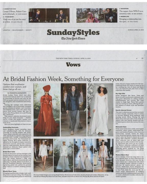 Ngắm váy cưới của nhà thiết kế Việt tại tiệm đồ cưới nổi tiếng nhất New York - Ảnh 8.