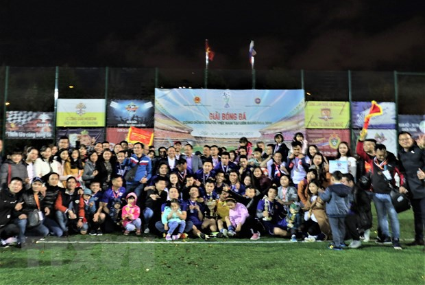 Ngày hội bóng đá của cộng đồng người Việt tại Liên bang Nga - Ảnh 1.