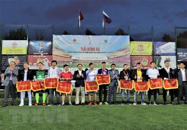 Ngày hội bóng đá của cộng đồng người Việt tại Liên bang Nga - Ảnh 2.