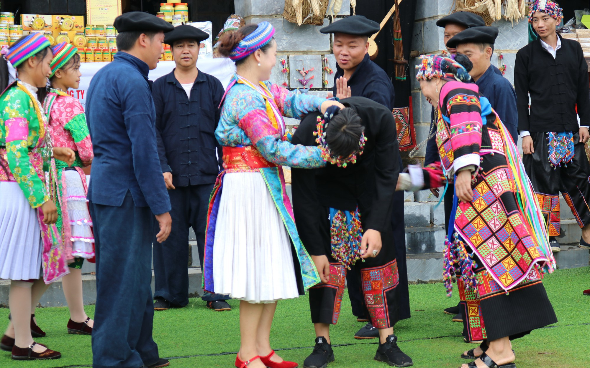 Độc đáo Hội vỗ mông của đồng bào dân tộc Mông, Hà Giang