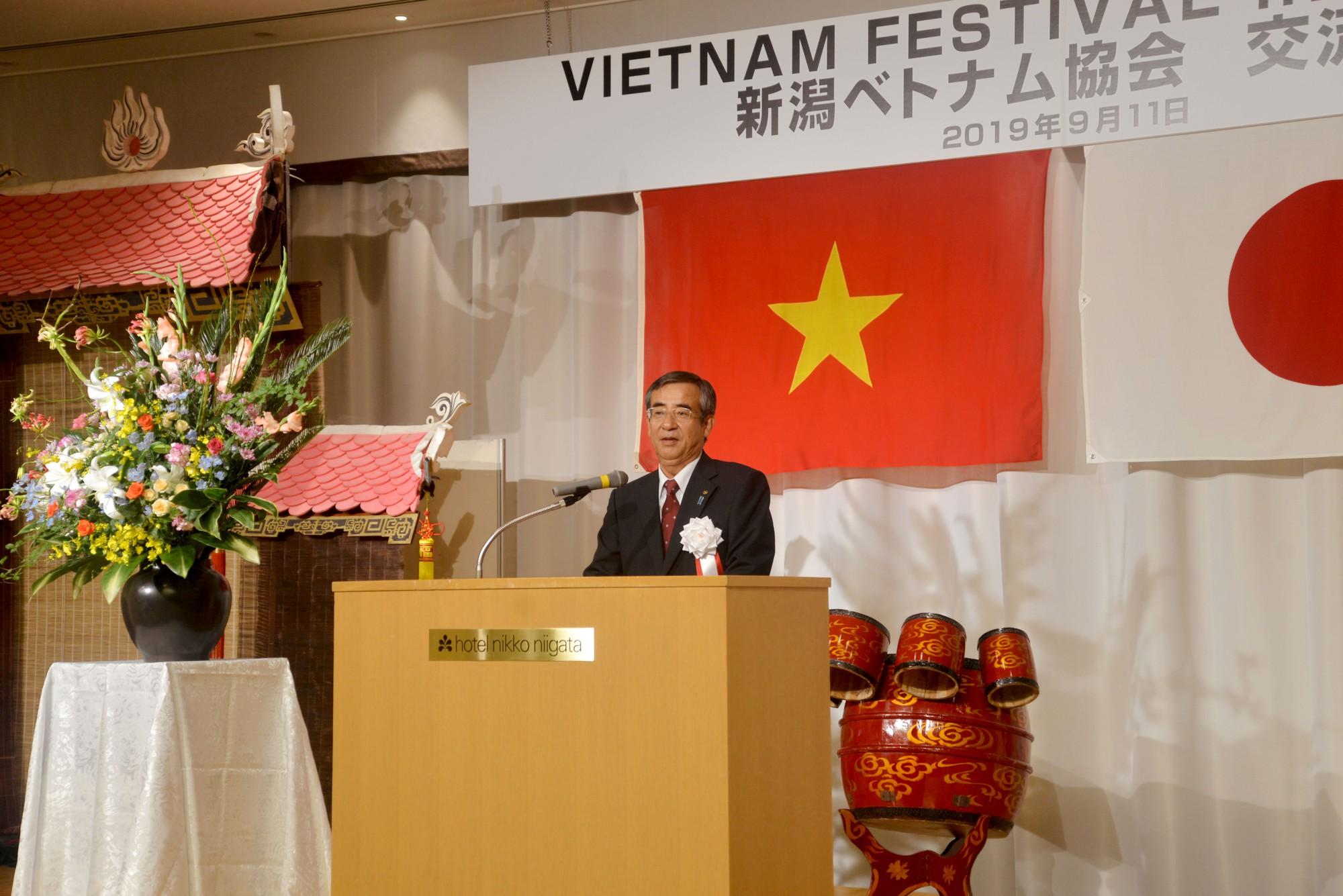 Lễ hội Việt Nam tại Niigata 2019 - Ảnh 1.