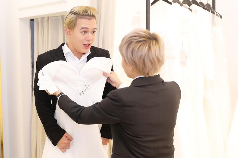 Xôn xao tin đồn 'Tomboyloichoi' Bảo Hân và Quang Anh đi thử áo cưới sau phim Về nhà đi con - Ảnh 10.