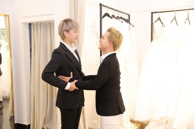 Xôn xao tin đồn 'Tomboyloichoi' Bảo Hân và Quang Anh đi thử áo cưới sau phim Về nhà đi con - Ảnh 6.