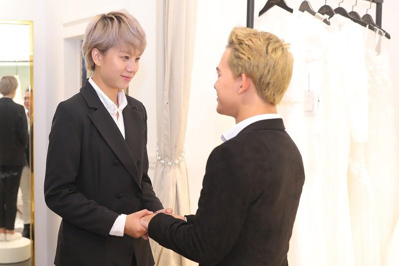 Xôn xao tin đồn 'Tomboyloichoi' Bảo Hân và Quang Anh đi thử áo cưới sau phim Về nhà đi con - Ảnh 7.