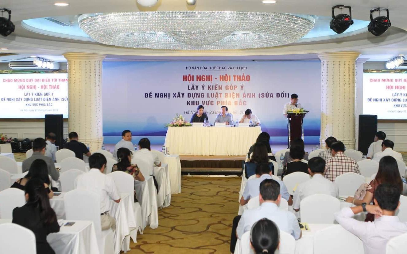 Bộ VHTTDL lấy ý kiến góp ý Đề nghị xây dựng Luật Điện ảnh sửa đổi