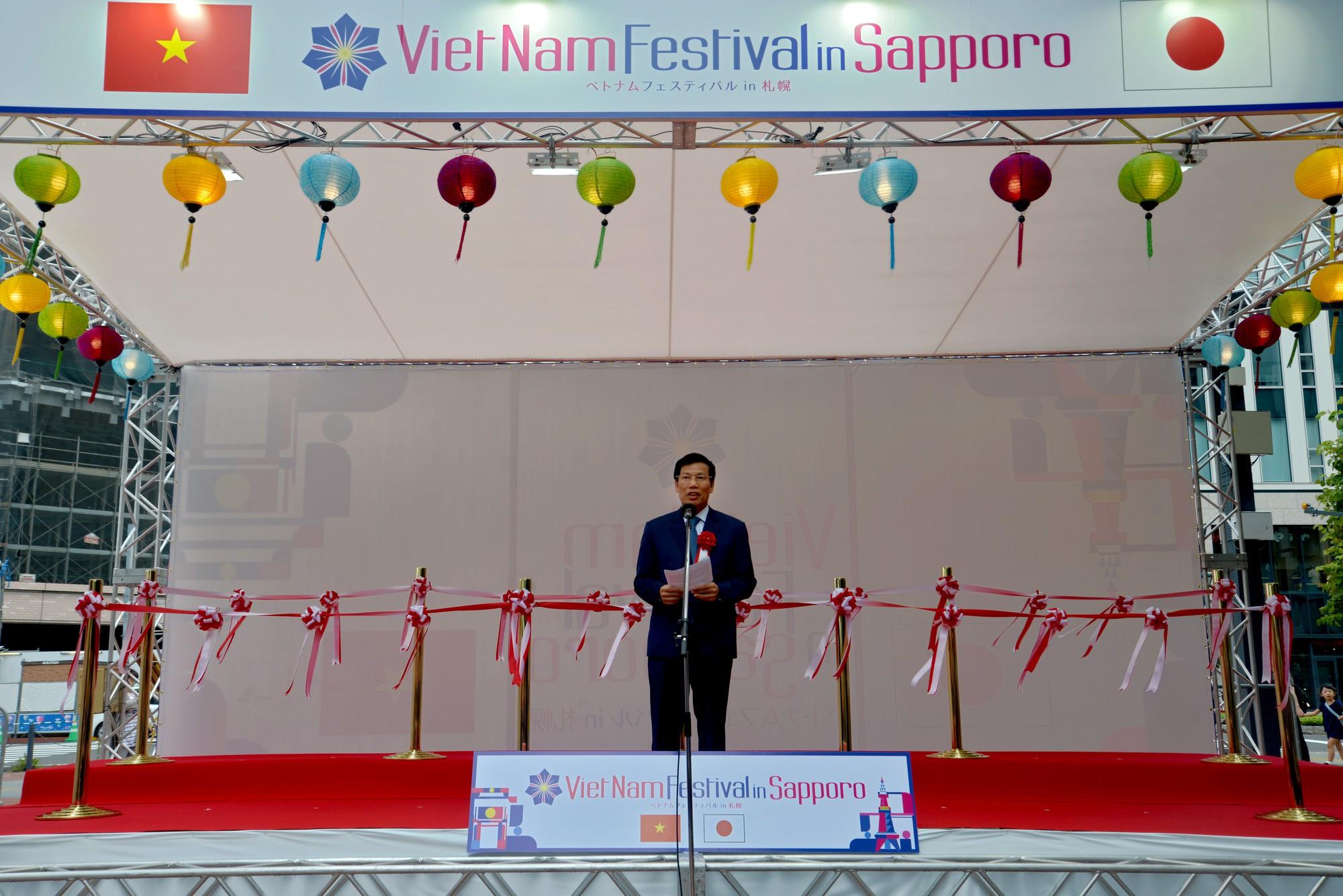 Lễ hội Việt Nam tại Sapporo năm 2019 lần thứ nhất - Ảnh 1.
