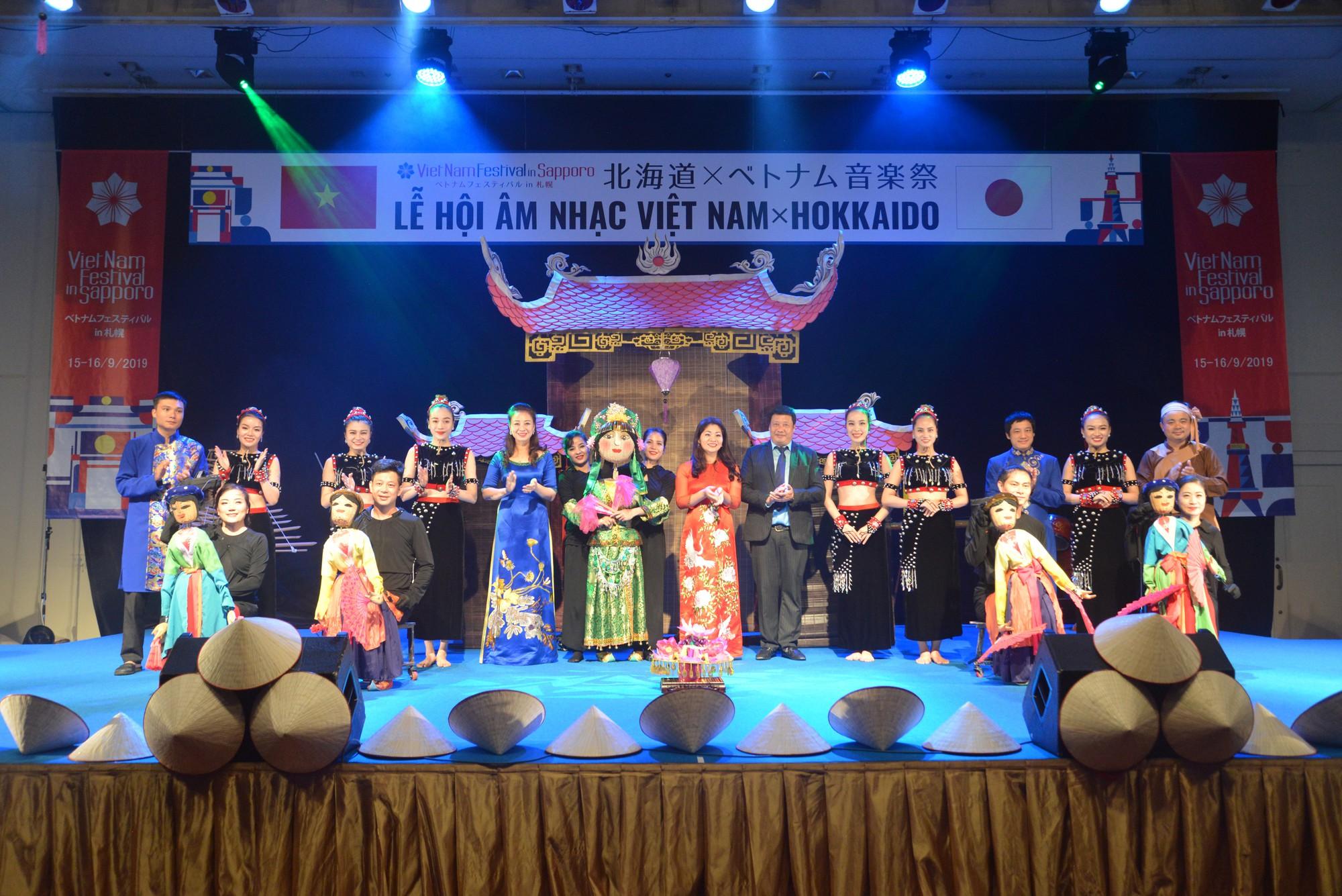 Lễ hội Việt Nam tại Sapporo năm 2019 lần thứ nhất - Ảnh 11.