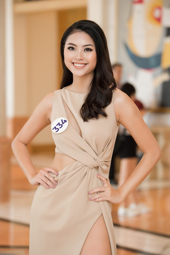 Hoa hậu Tường Linh, Đào Hà và dàn người đẹp quen mặt gợi cảm dự thi Hoa hậu Hoàn vũ VN - Ảnh 2.