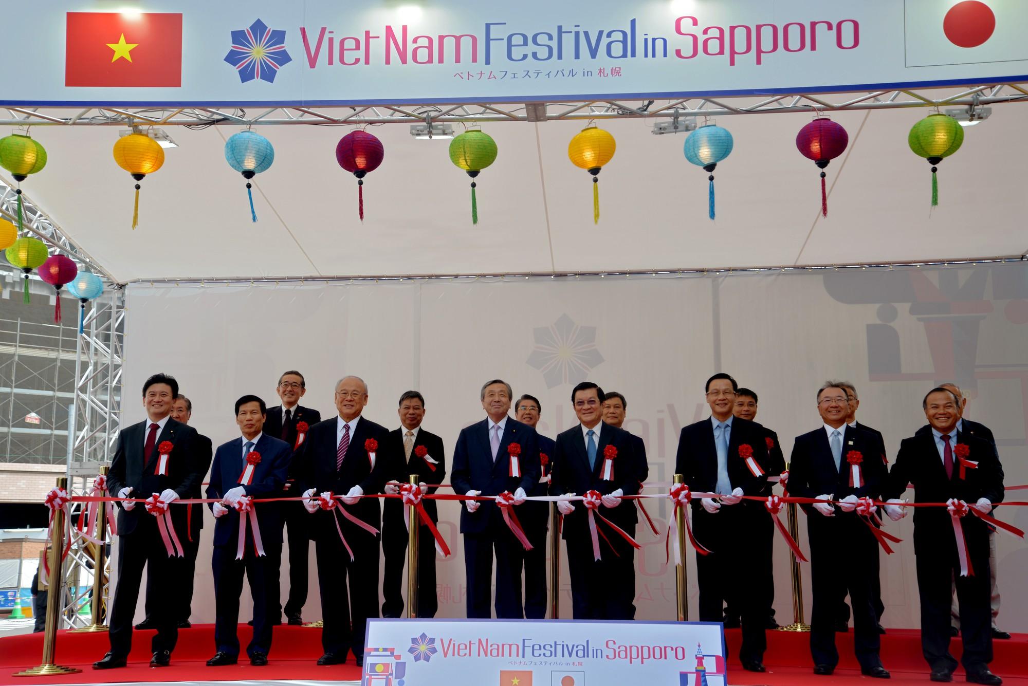 Lễ hội Việt Nam tại Sapporo năm 2019 lần thứ nhất - Ảnh 3.