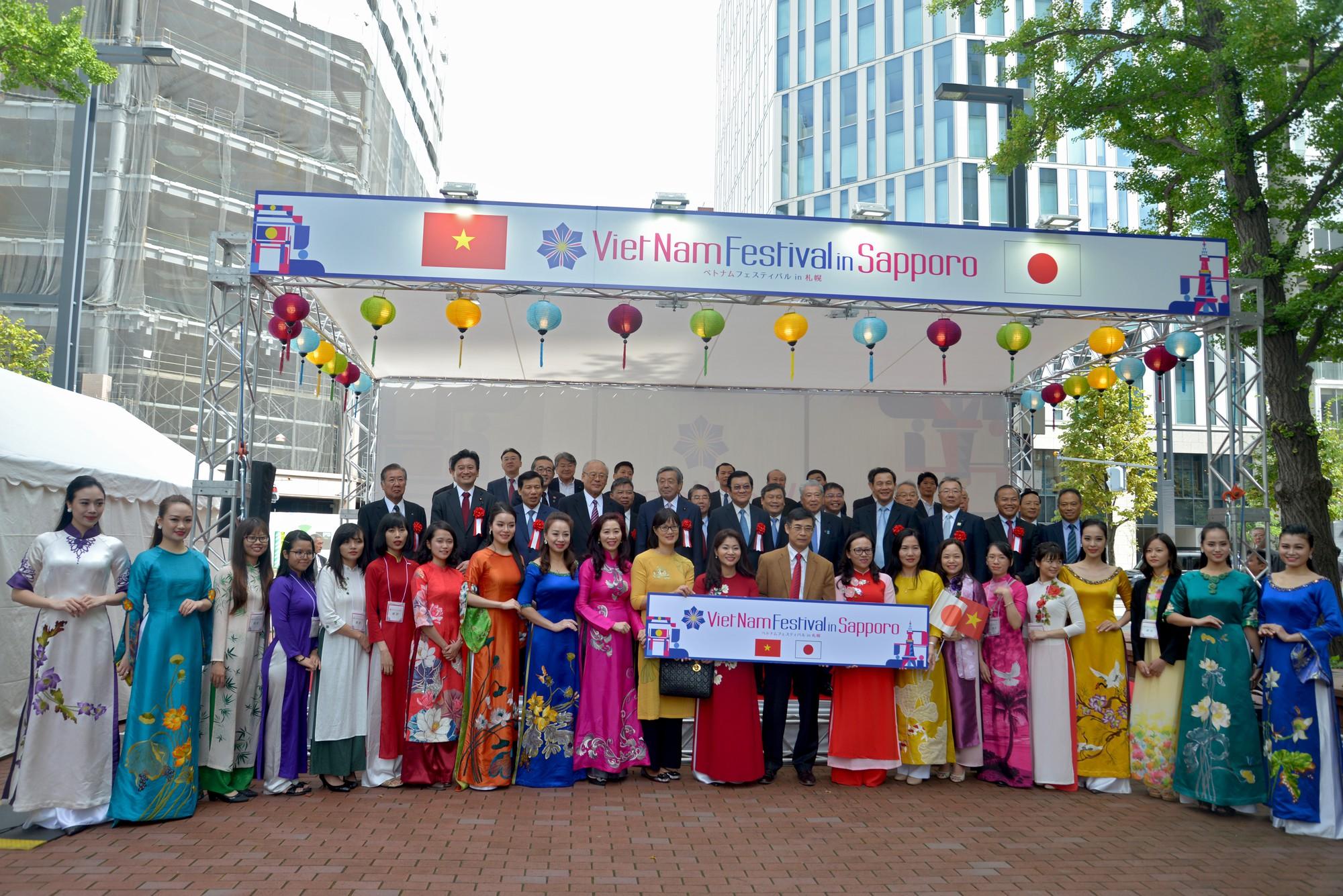 Lễ hội Việt Nam tại Sapporo năm 2019 lần thứ nhất - Ảnh 4.