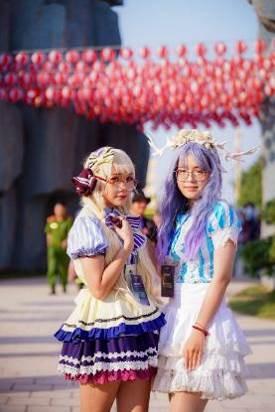 """Cộng đồng cosplay """"phát cuồng"""" với điểm sống ảo mới ở Hà Nội - Ảnh 4."""