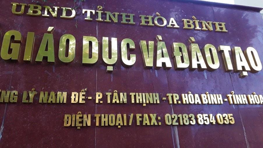 So GD Hoa Binh