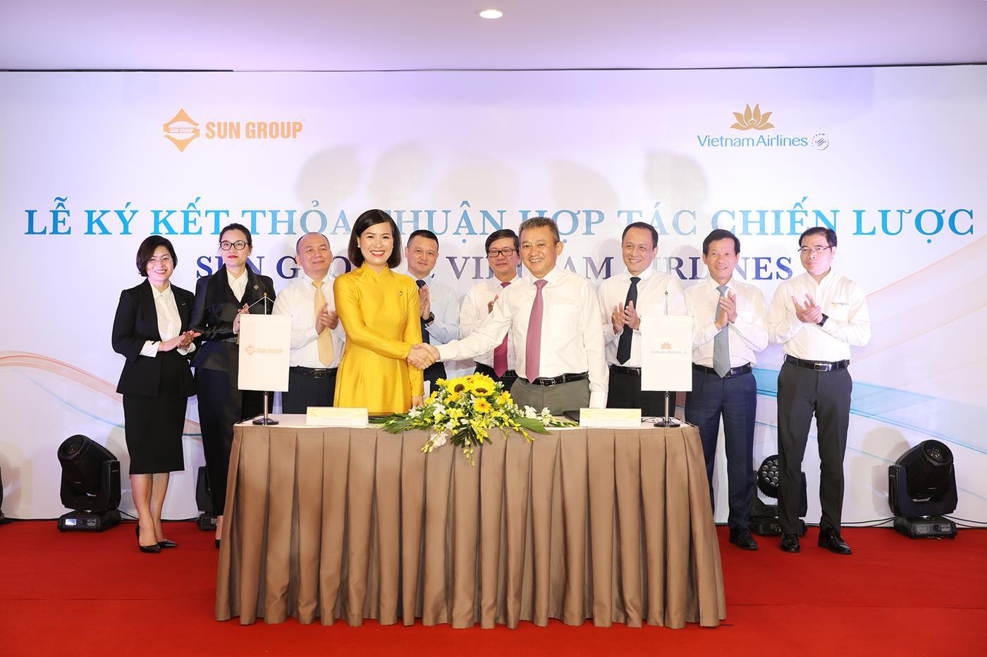 Sun Group ky hop tac chien luoc cung Vietnam Airlines 2