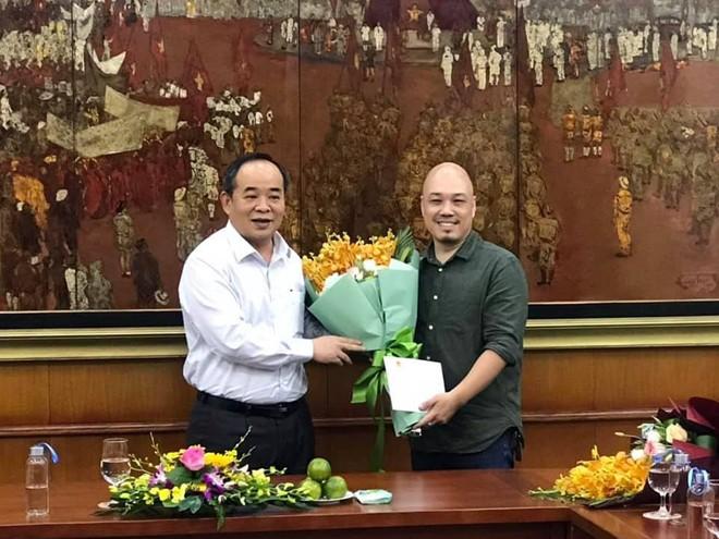 NSND Triệu Trung Kiên được bổ nhiệm quyền Giám đốc Nhà hát Cải lương Việt Nam - Ảnh 1.