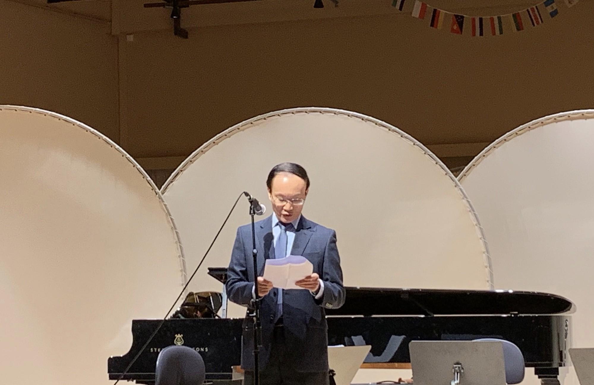 Chương trình hòa nhạc của Học viện Âm nhạc Quốc gia Việt Nam tại Học viện Âm nhạc Malmo - Ảnh 1.