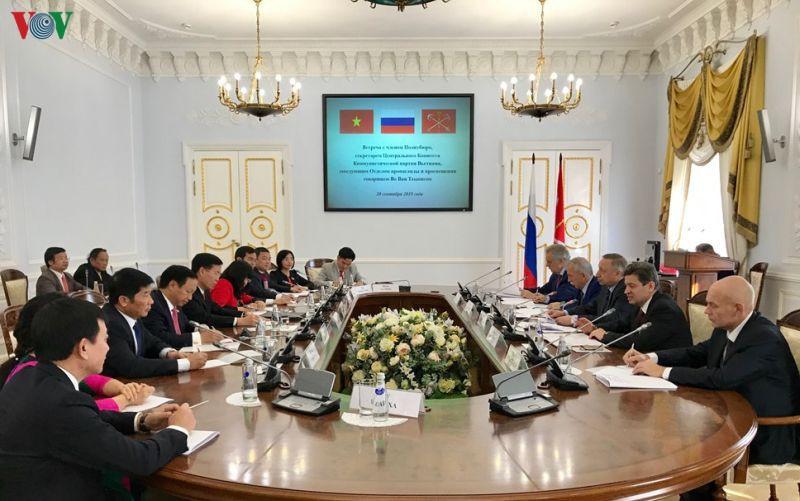 Thống đốc Saint Peterburg: Di sản tinh thần Hồ Chí Minh là vô giá - Ảnh 2.