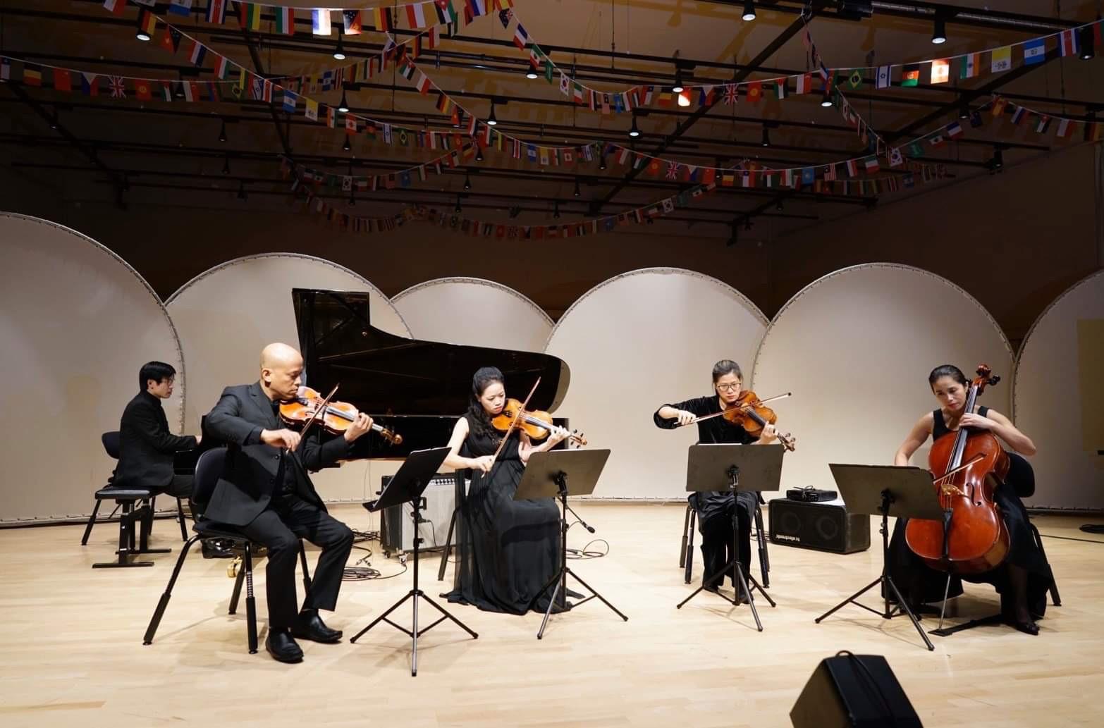 Chương trình hòa nhạc của Học viện Âm nhạc Quốc gia Việt Nam tại Học viện Âm nhạc Malmo - Ảnh 2.