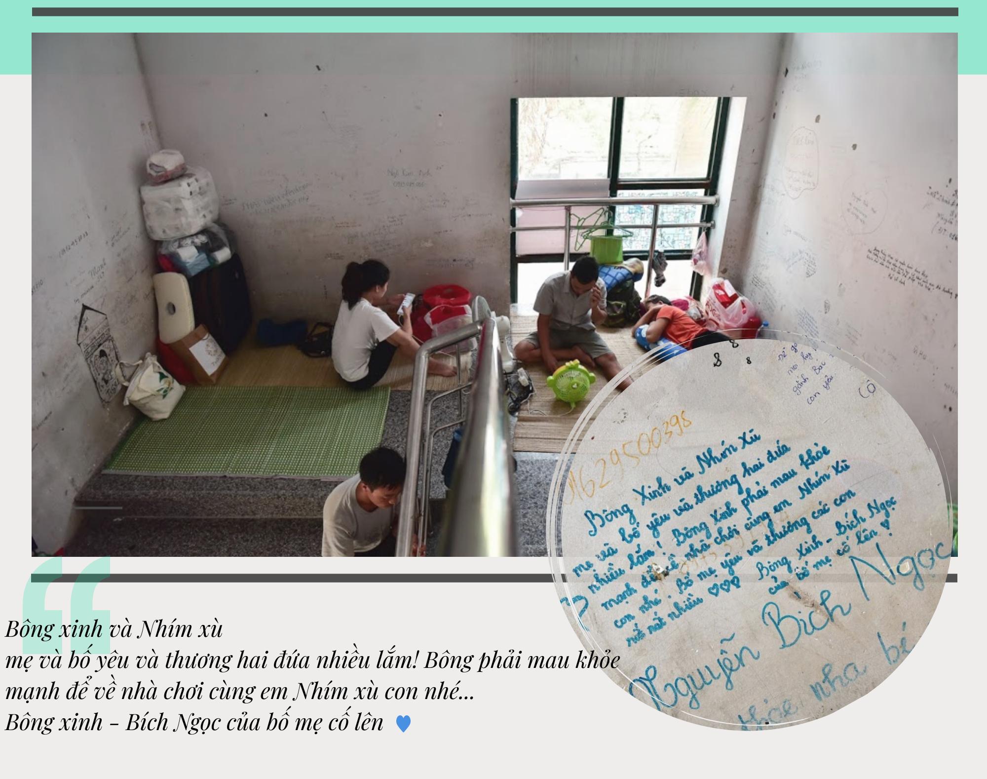 Những lời nhắn xúc động trên bức tường ngoài phòng mổ Bệnh viện E - Ảnh 4.