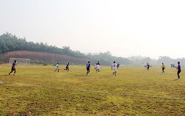 Khai mạc Giải bóng đá thanh niên tỉnh Lào Cai năm 2019
