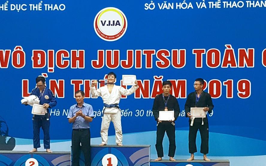 Hấp dẫn Giải vô địch Jujitsu toàn quốc lần thứ nhất năm 2019