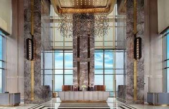 Xem pháo hoa mừng Quốc khánh từ khách sạn cao nhất Đông Nam Á - Ảnh 1.