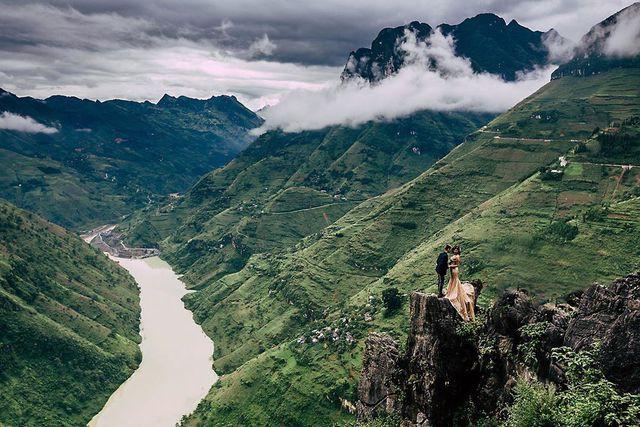 Sửng sốt trước vẻ đẹp của hẻm vực sâu nhất Đông Nam Á ở Hà Giang - Ảnh 5.