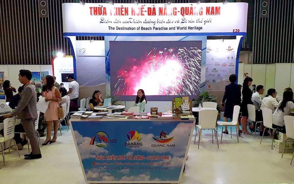 Thừa Thiên Huế – Đà Nẵng – Quảng Nam tham gia Hội chợ du lịch quốc tế ITE - HCMC 2019
