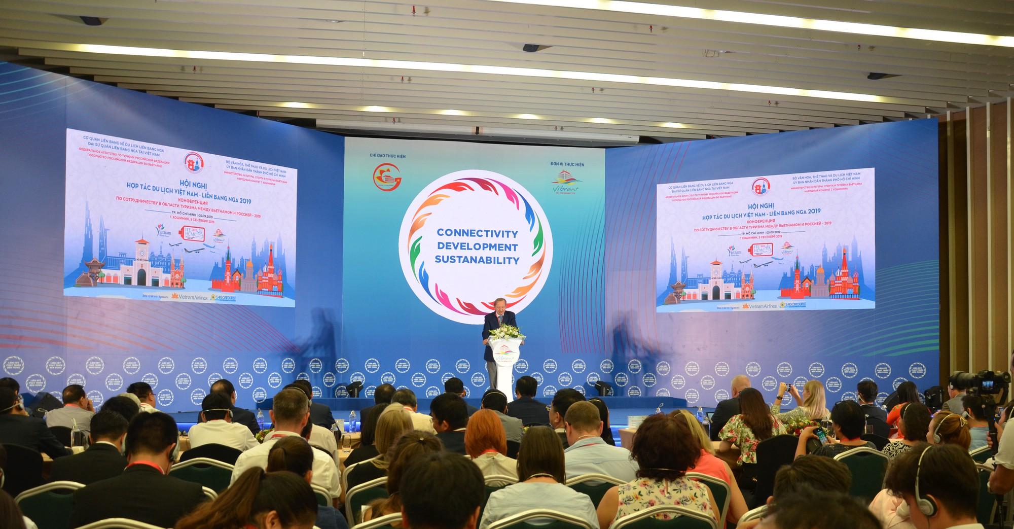 Hội nghị hợp tác du lịch Việt - Nga năm 2019 tại Thành phố Hồ Chí Minh - Ảnh 2.