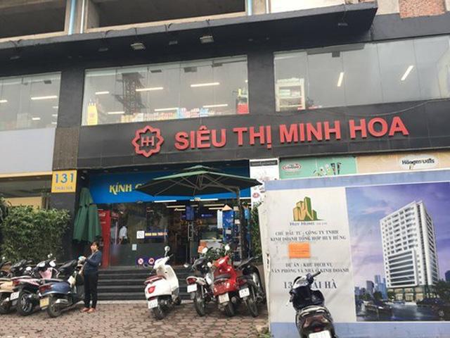Minh Hoa - siêu thị đầu tiên tại Hà Nội bất ngờ giảm 90% vốn, website ngừng hoạt động - Ảnh 1.