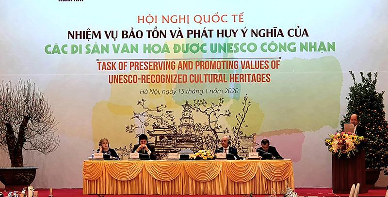 Bảo tồn và phát huy ý nghĩa của các di sản văn hóa UNESCO - Ảnh 2.