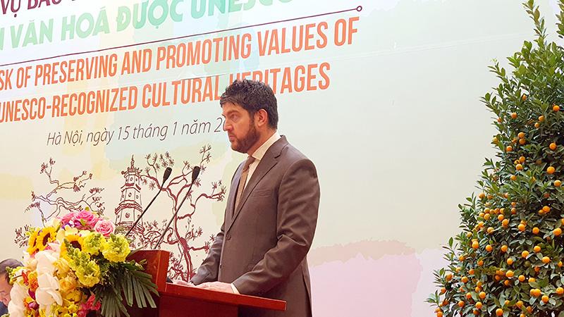 Bảo tồn và phát huy ý nghĩa của các di sản văn hóa UNESCO - Ảnh 4.