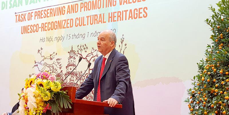 Bảo tồn và phát huy ý nghĩa của các di sản văn hóa UNESCO - Ảnh 3.